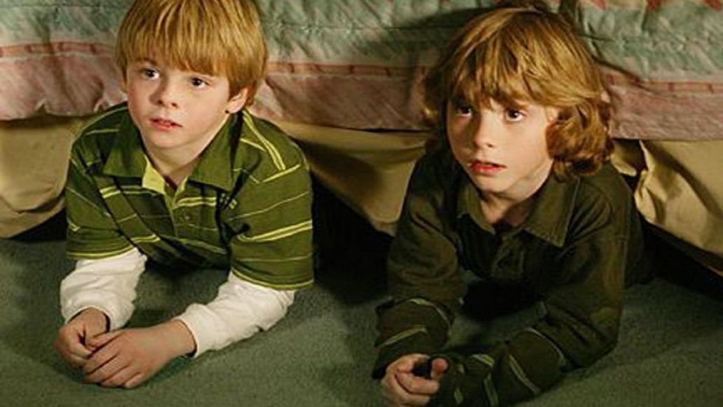 Lorenzo Brino as Sam Camden (right) on 7th Heaven