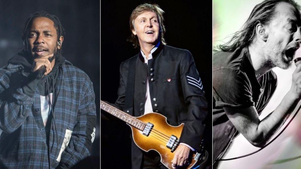 Kendrick Lamar (Amy Price), Paul McCartney (MJ Kim), and Thom Yorke (Autumn Andel) to play Glastonbury 2020