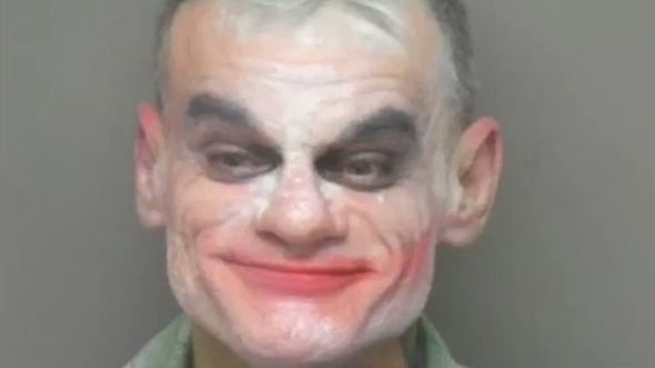 Jeremey Garnier Joker terrorist arrested charged crime movie
