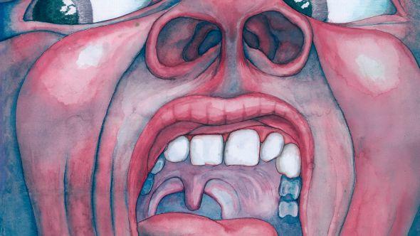 King Crimson's In the Court of the Crimson King artwork