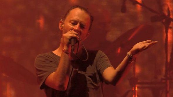 Radiohead performing at Best Kept Secret Festival
