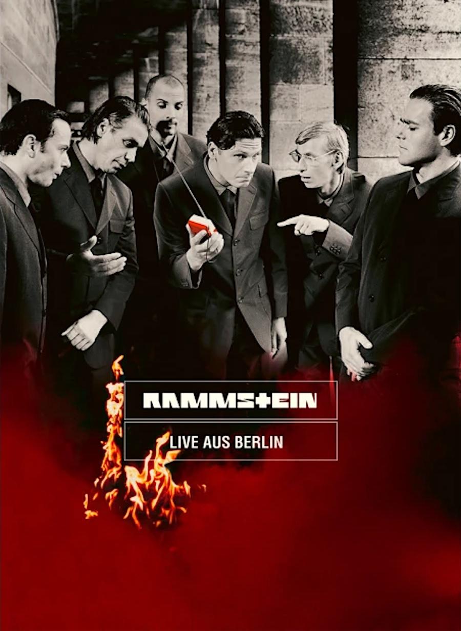 Rammstein Live Aus Berlin Cover