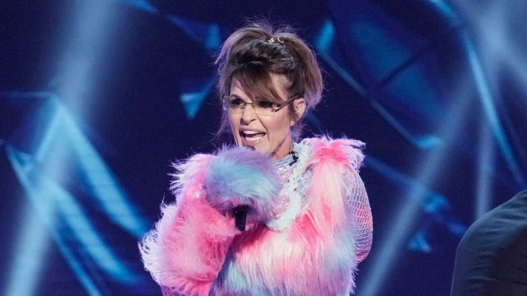 Sarah Palin on The Masked Singer