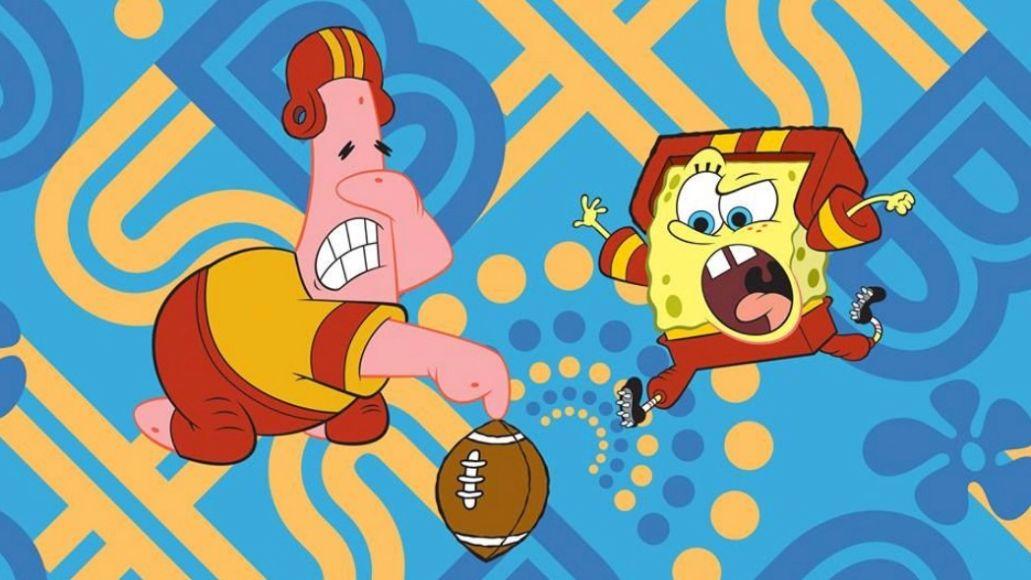 Spongebob football