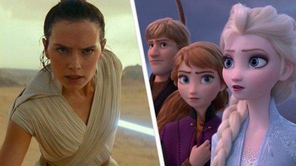 Star Wars: The Rise of Skywalker and Frozen 2