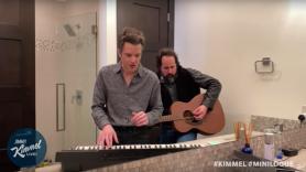 The Killers Bathroom Caution Bathroom Jimmy Kimmel Live