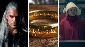 The Witcher (Netflix), Lord of the Rings (Amazon), and The Handmaid's Tale (Hulu) Lord of the Rings production tv show series coronavirus