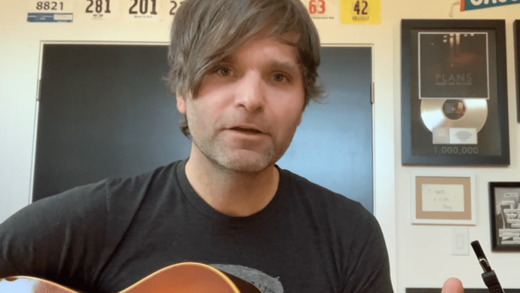 ben gibbard life in quarantine new song stream walk acoustic