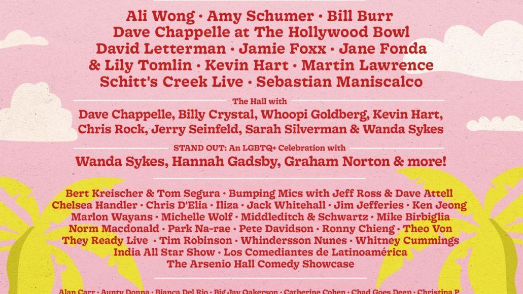 netflix is a joke fest lineup poster