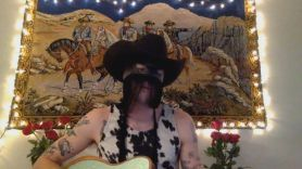 orville peck kenny rogers cover livestream video