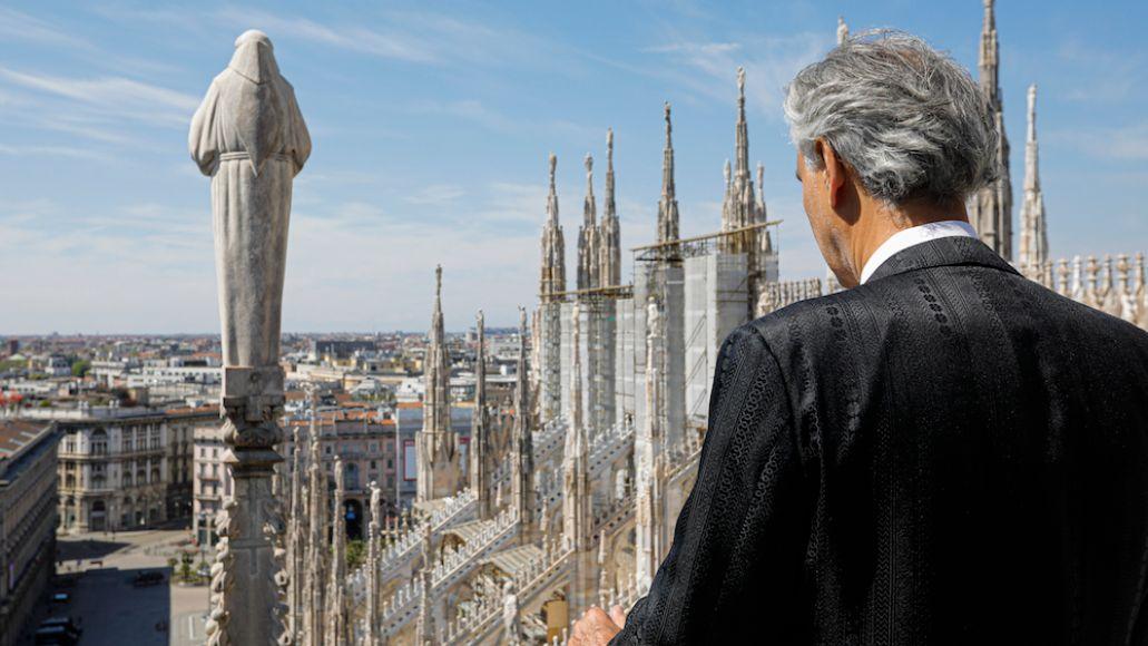 Bocelli Duomo 3 credit LUCA ROSSETTI COURTESY SUGAR SRL DECCA RECORDS Andrea Bocelli Releases Full Easter Sunday Concert Video: Watch