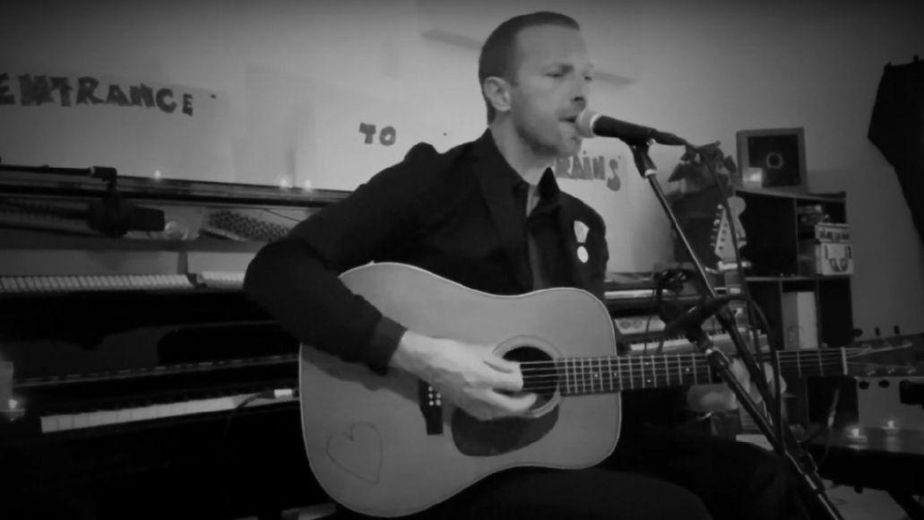Chris Martin performs on SNL