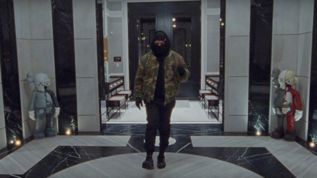 "Drake in video for ""Toosie Slide"""