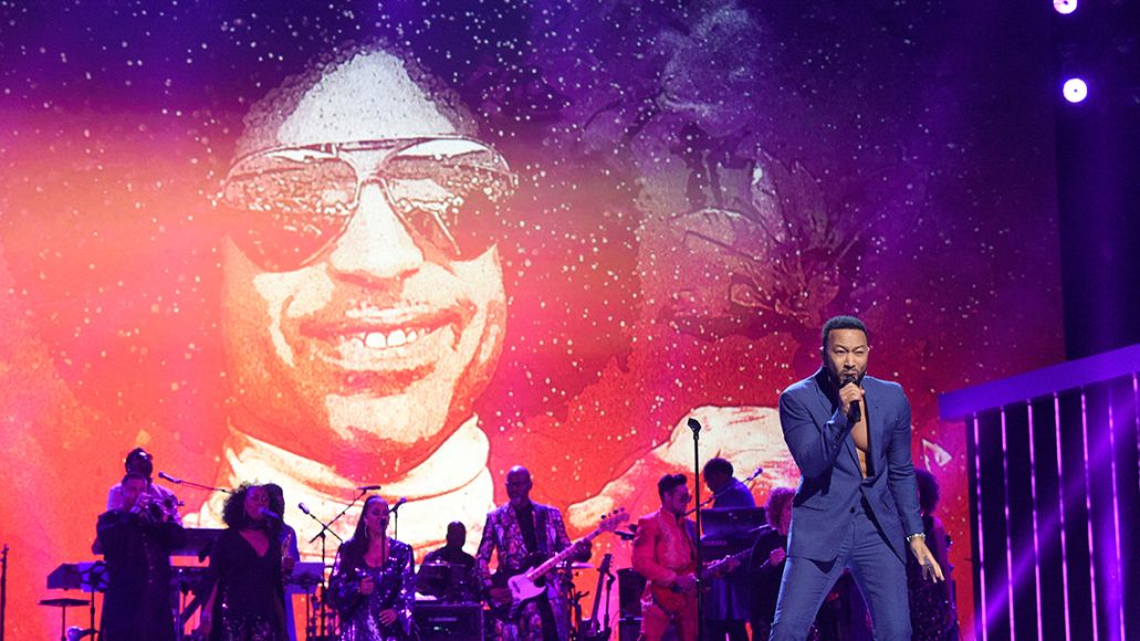 John Legend performs at Prince tribute concert