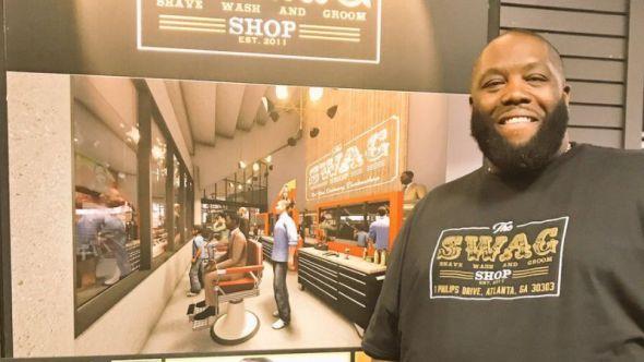 Killer Mike barbershop
