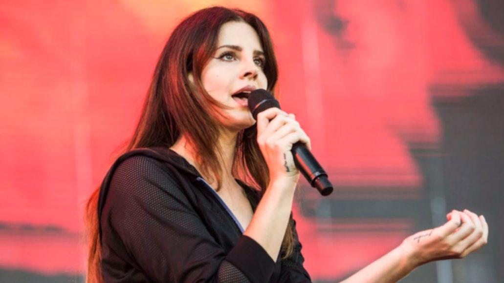 Lana Del Rey spoken word poetry album Violet Bent Backwards Over the Grass poems, photo by Philip Cosores