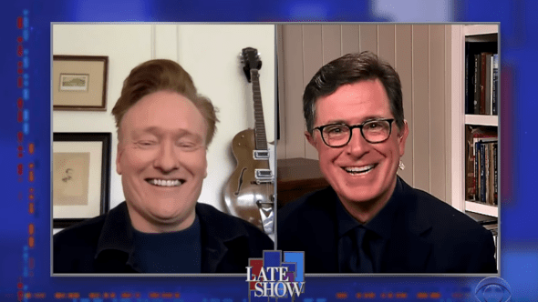 Late show with stephen colbert conan o'brien