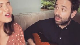 Mandy Moore with Dawes' Taylor Goldsmith