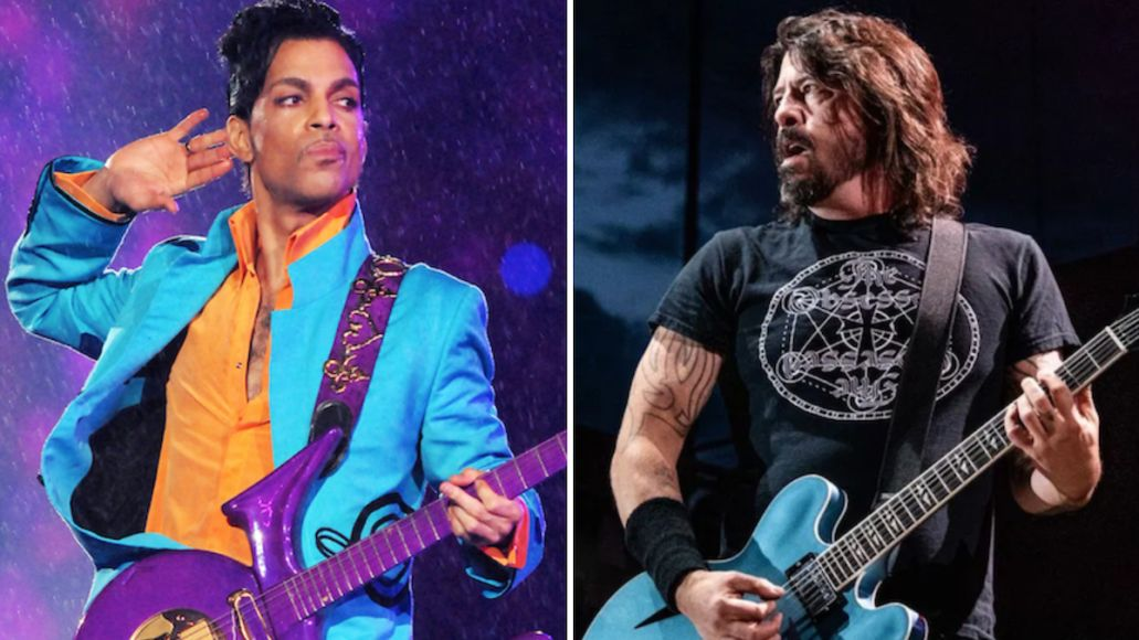 Prince Dave Grohl foo fighters jam true short stories super bowl halftime show