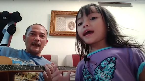 Little Girl Sings Rage Against the Machine
