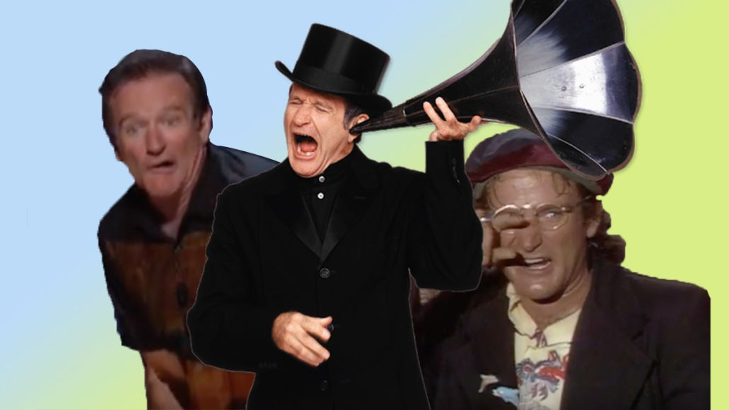 Robin williams youtube channel comic genius