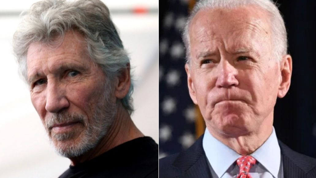 Roger Waters and Joe Biden