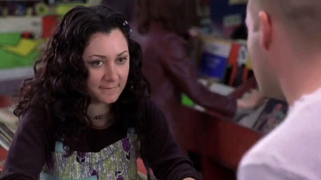Sara Gilbert with Todd Louiso in High Fidelity