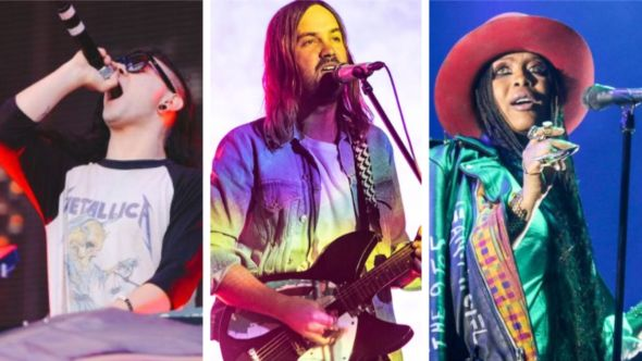 Remote Utopias livestream NTS radio station Skrillex (Ellie Pritts), Tame Impala (Amy Price), Erykah Badu (Nina Corcoran)