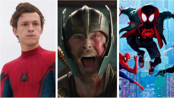 Spider-Man, Thor, and Spider-Man: Into the Spider-Verse release date Doctor Strange 2