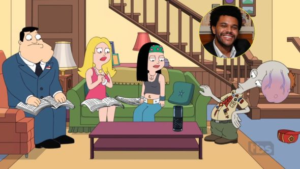 The Weeknd to co-write upcoming episode of American Dad