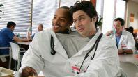 Zach Braff Donald Faison Scrubs podcast fake doctors real friends