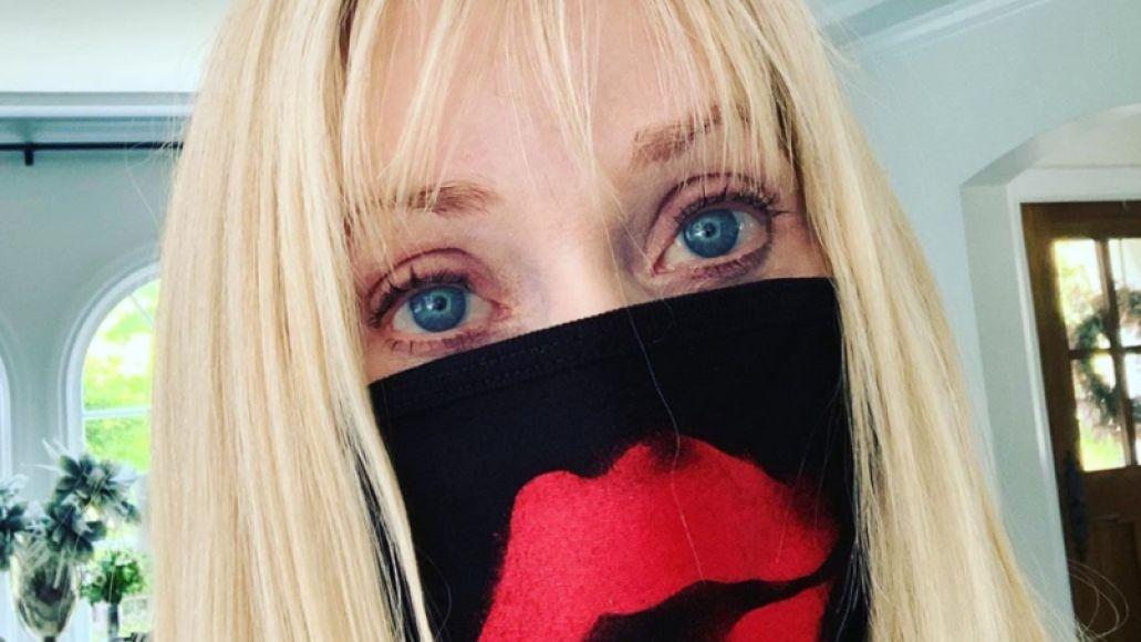 Barbara Crampton in quarantine via Instagram