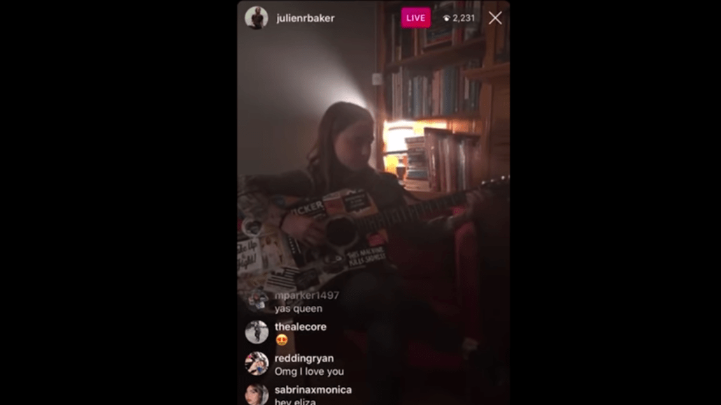julien baker mercy livestream debut new song video