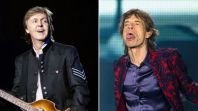 mick jagger responds mccartney beatles vs rolling stones better comments The Rolling Stones Enlist The War on Drugs for New Remix of Scarlet: Stream