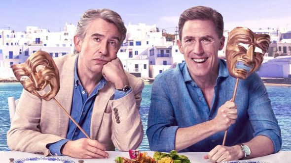 Steve Coogan and Rob Brydon in The Trip to Greece