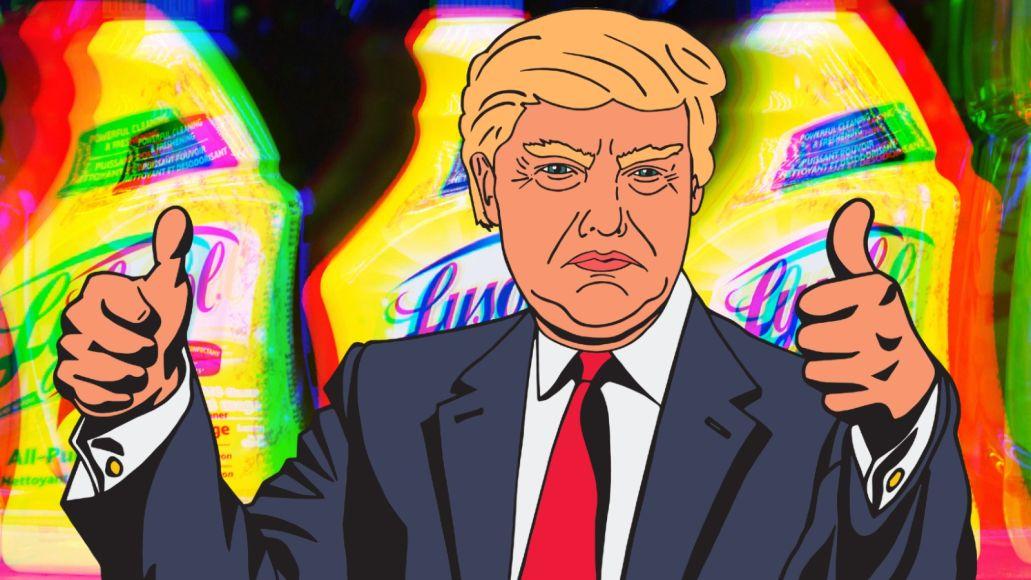 Lysol Trump Statement
