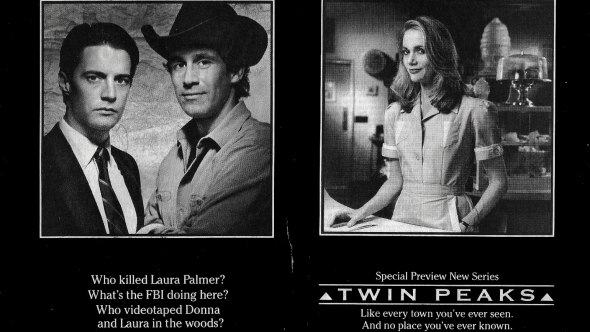 Original Twin Peaks Ad