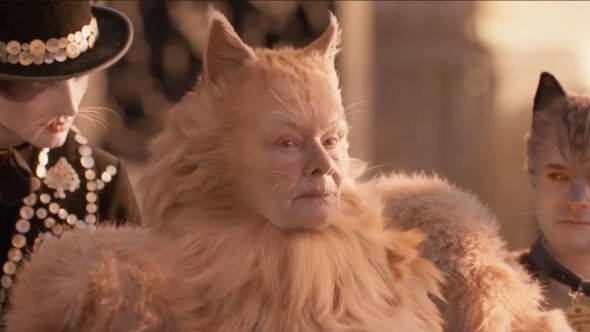 Judi Dench Cats (Universal Pictures) movie CGI visual effects fox foxes