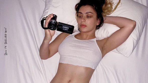 Charli XCX coronavirus quarantine album how i'm feeling now album artwork
