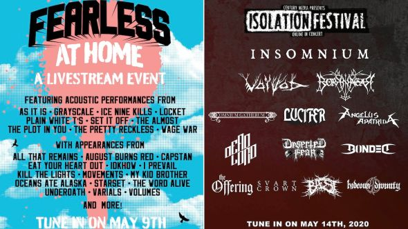 Fearless and Century Media Streaming Festivals