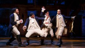 Hamilton, photo via Disney