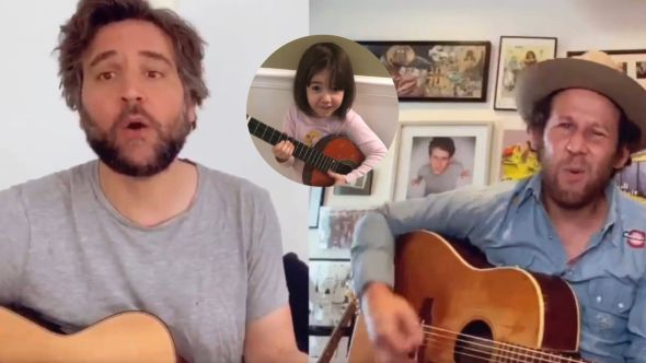 """Josh Radnor and Ben Lee cover """"I Wonder What's Inside Your Butthole"""""""
