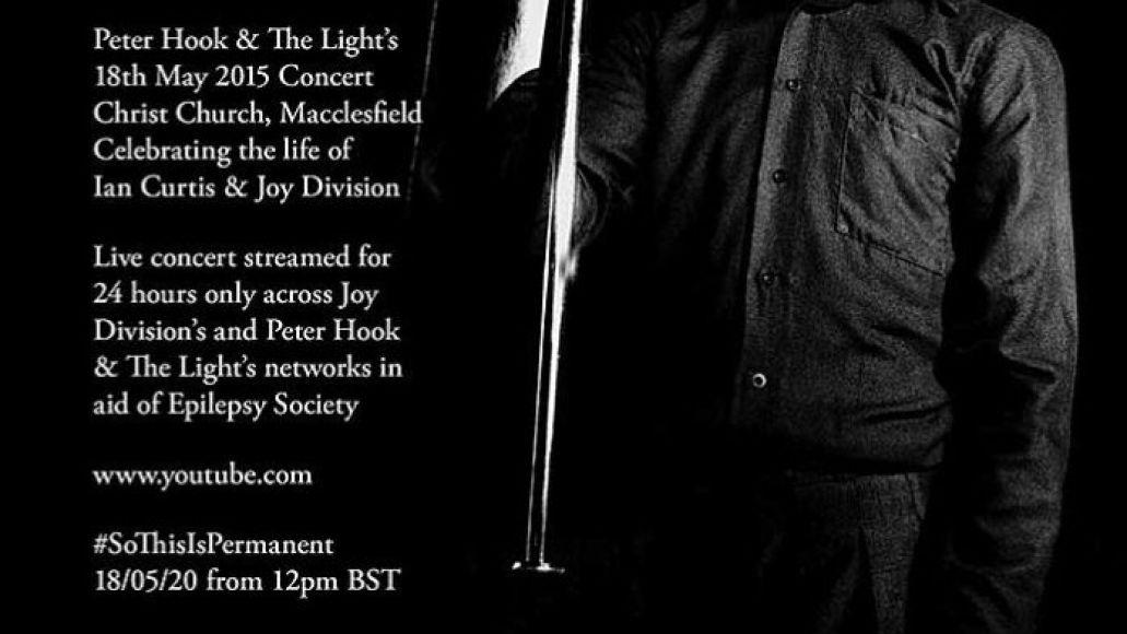 Joy Division livestream