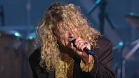 Robert Plant with Led Zeppelin in 1995