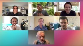 Lord of the Rings livestream reunion cast reunite (YouTube)