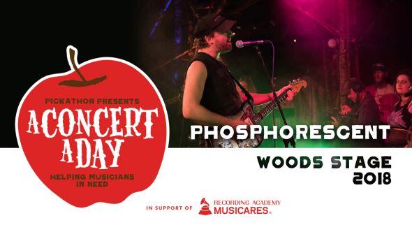 Phosphorescent performs at Pickathon
