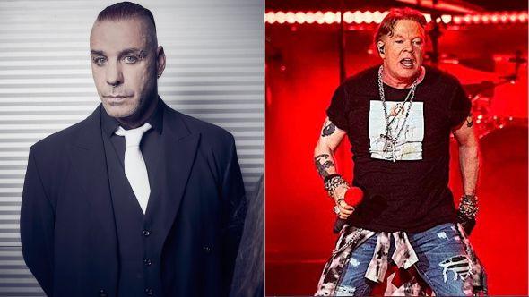 Rammstein Guns N Roses cancel European tours