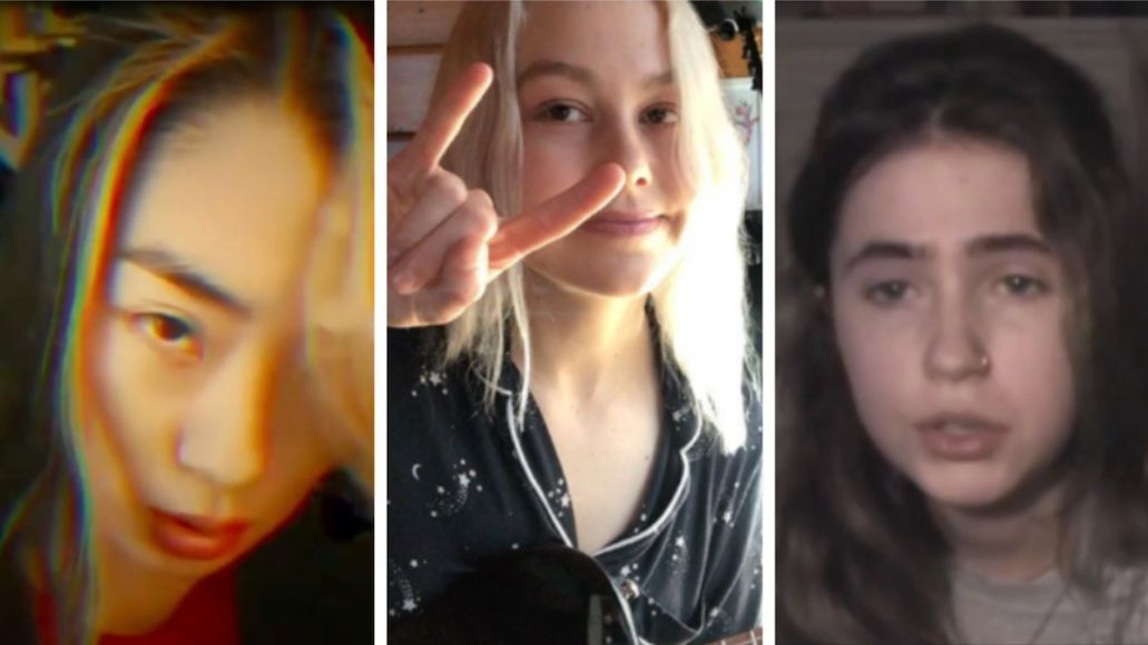 The 1975 cover song Rina Sawayama, Phoebe Bridgers, and Clairo (The Face)
