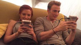 The Avengers reunion Scarlett Johansson and Chris Evans