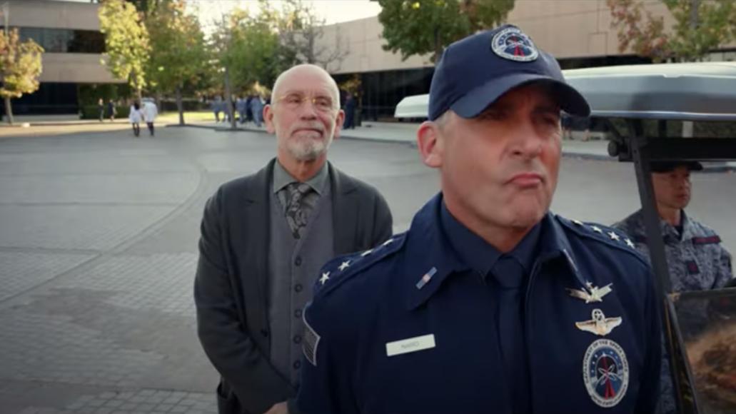 Space Force Steve Carrell Netflix First Trailer Greg Daniels The Office Comedy John Malkovich Watch Stream